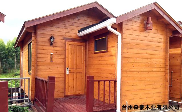 产品中心-木制别墅
