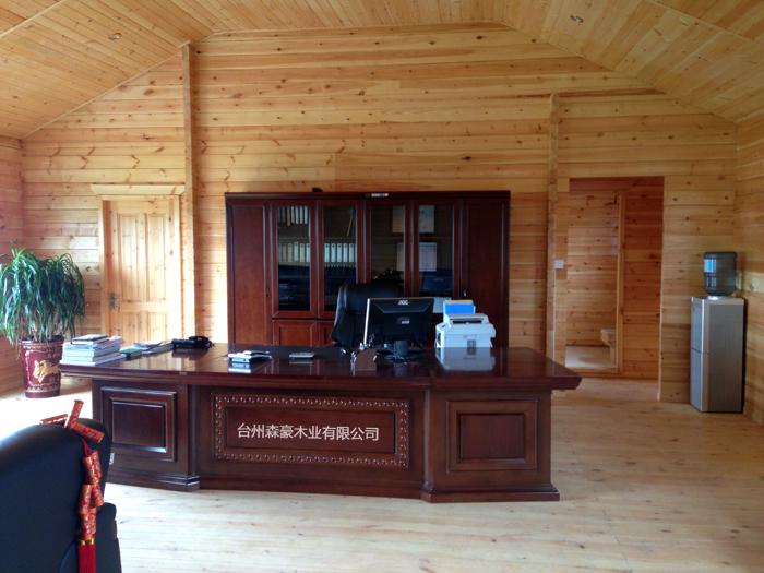 路桥木结构办公室 - 产品中心-木制别墅